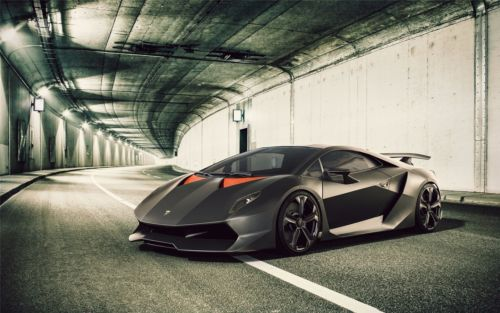 Lamborghini Poster 103 Silk Canvas Size 24 X 38 Royrichawebsite